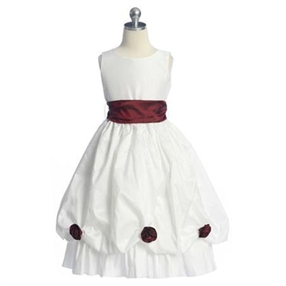 Blossom Baby White Dress